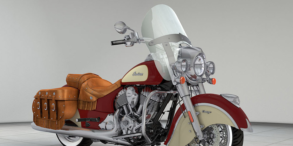 Indian® Chief® Vintage - ALFORJAS DE RÁPIDA LIBERACIÓN