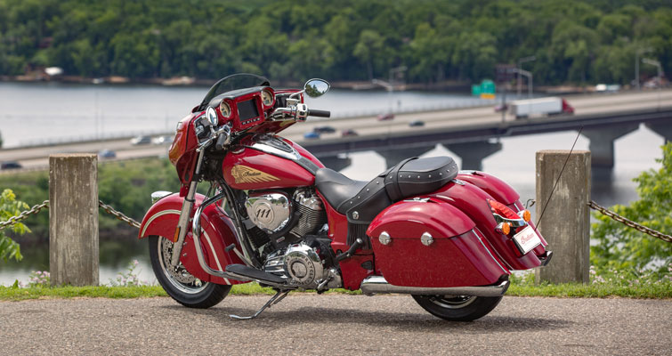 Indian® Chieftain® Classic - CONTROL DE CRUCERO